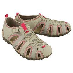 GEOX D7125U SAND STREL C1010 lt grey, sandały damskie