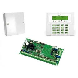 VERSA 10-KLCD Komplet: Centrala alarmowa Versa 10, Manipulator VERSA-LCD-GR, Obudowa OPU-4 P(bez transformatora)
