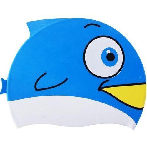 Czepki, Czepek silikonowy SPURT Fish Niebieski