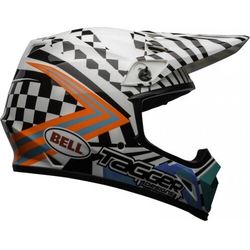 Bell kask off-road mx-9 mips tagger gloss wh/black