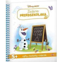 Książki dla dzieci, Disney uczy Kraina Lodu Zadania przedszkolaka - Praca zbiorowa (opr. broszurowa)