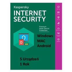 Kaspersky Internet Security MD 2018 5PC/1rok ESD