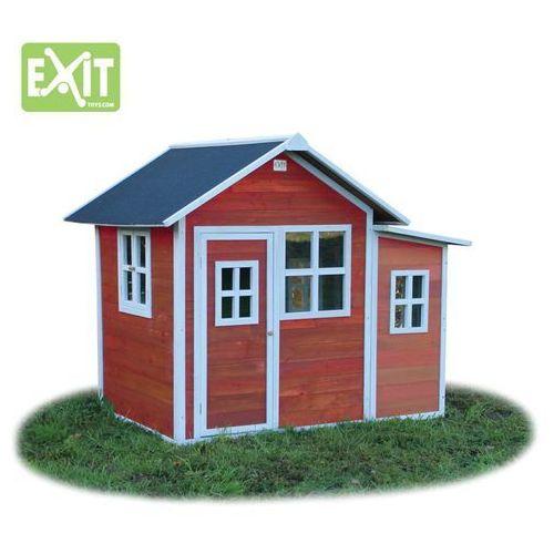 Domki i namioty dla dzieci, Domek cedrowy dla dzieci EXIT LOFT 150 /czerwony/