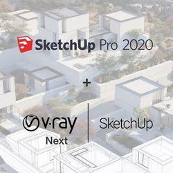 SketchUp Pro 2020 PL BOX + V-Ray NEXT