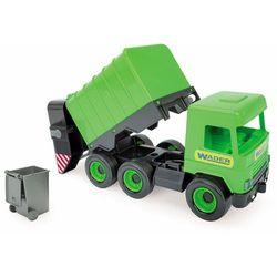 Middle truck - Śmieciarka zielona