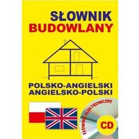 Książki do nauki języka, Słownik budowlany pol-ang.ang-pol +CD (opr. broszurowa)