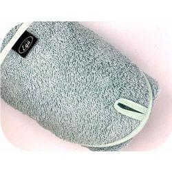 Miętowe okrycie kąpielowe 75x75 ręcznik z kapturkiem Ega