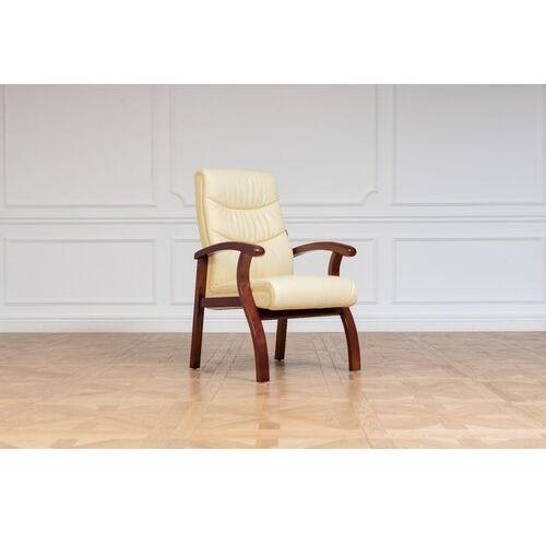 Fotele i krzesła biurowe, Krzesło biurowe COMFORTE kremowy