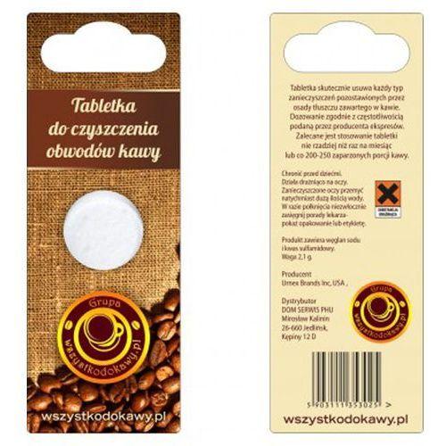 Akcesoria do ekspresów do kawy, Tabletka do czyszczenia obwodów kawy