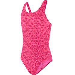 speedo Boomstar Allover Kostium kąpielowy Muscleback Dziewczynki, electric pink/galinda 128 | US 24 2020 Stroje kąpielowe Przy złożeniu zamówienia do godziny 16 ( od Pon. do Pt., wszystkie metody płatności z wyjątkiem przelewu bankowego), wysyłka odbędzie się tego samego dnia.