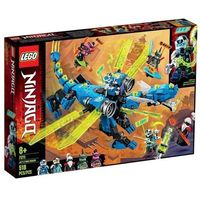 Klocki dla dzieci, Lego NINJAGO Cybersmok jaya jay's cyber dragon 71711