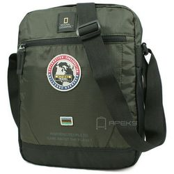 "National Geographic EXPLORER torba na ramię / laptop 13.3"" / N01104.11 - Khaki"