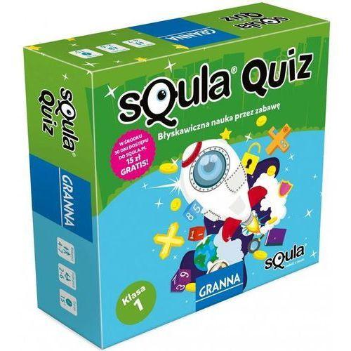 Gry dla dzieci, Gra Squla quiz klasa 1 - Granna
