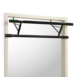 KLARFIT In-Door drążek do podciągania mocowanie w futrynie drzwi 130kg pady EVA stal czarny