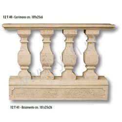 Balustrada Trawertynowa BASAMENTO szer. 109 cm.