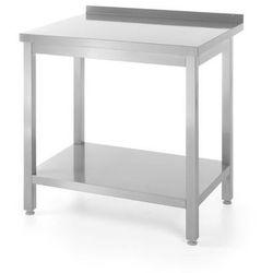 Stół roboczy przyścienny z półką | skręcany 600x600mm
