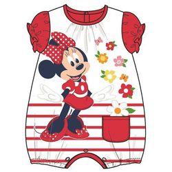 Disney by Arnetta ubranko dziewczęce Minnie 74 biały/czerwony