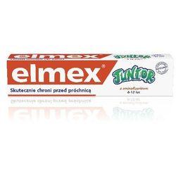 Elmex Pasta do Zębów dla Dzieci Junior 7-12 lat DUO druga 50% 75 ml x 2