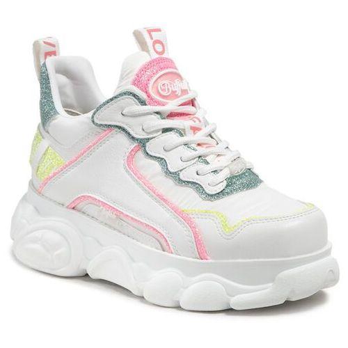 Damskie obuwie sportowe, Sneakersy BUFALLO - Cld Chai 1630455 White/Multi