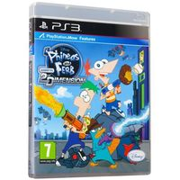 Gry na PS3, Phineas and Ferb Across the 2nd Dimension (PS3)