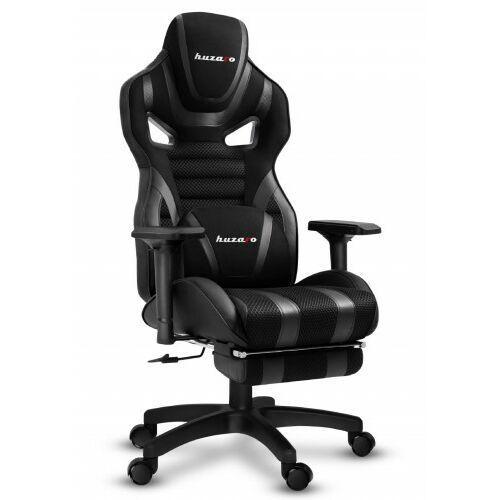 Fotele dla graczy, Fotel Gamingowy HUZARO FORCE 7.5 Black Mesh