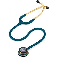Stetoskop internistyczny 3M Littmann Classic III RAINBOW - tęczowo-błękitny