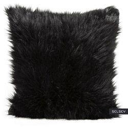 SELSEY Poszewka na poduszkę Florentius 45x45 cm z długim włosiem