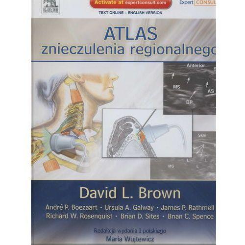 Książki medyczne, Atlas znieczulenia regionalnego (opr. twarda)