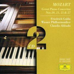 W.A. Mozart - Pianoconcerts 20,21,25,27