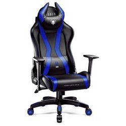 Fotel DIABLO CHAIRS X-One Horn (L) Czarno-niebieski