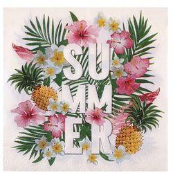 Serwetki Hawajskie Summer Tropical Party - 33 cm - 20 szt.