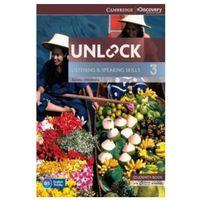 Książki do nauki języka, Unlock: Listening & Speaking Skills 3. Podręcznik + Online Workbook (opr. miękka)