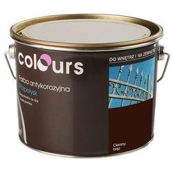 Farba antykorozyjna Colours ciemna brązowa 2,5 l