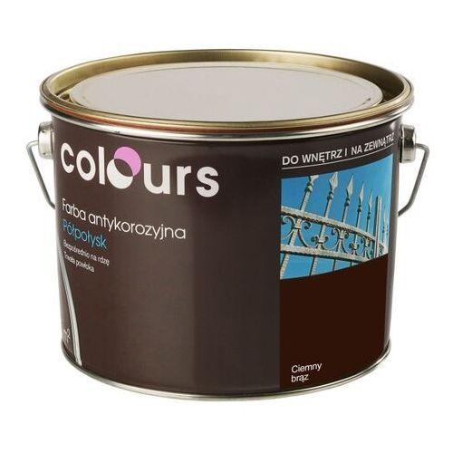 Farby, Farba antykorozyjna Colours ciemna brązowa 2,5 l