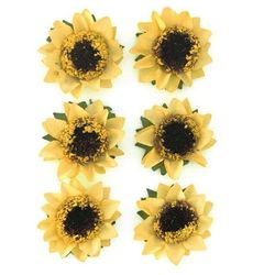 Kwiaty samop. GP papier SŁONECZ. op.6 żółty 252022
