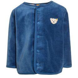 Steiff Collection 1/1 ARM BABY NEWBORN WINTER COLOR Bluza rozpinana federal blue
