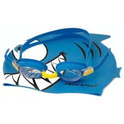 Zestaw pływacki Aqua-Speed Set Fish Junior 1148