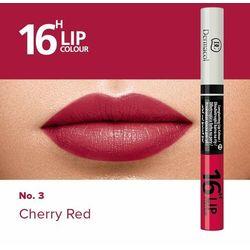 Dermacol 16H Lip Colour długotrwały kolor do ust i błyszczyk odcień 03 (Longlasting Lip Colour) 4,8 g