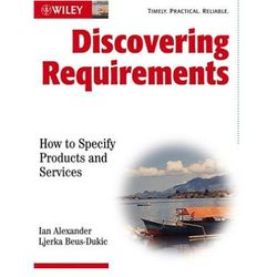 Discovering Requirements. How to Specify Products and Services (opr. miękka)