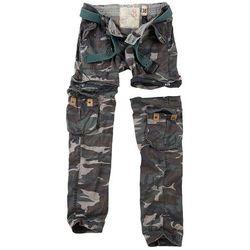 Surplus Spodnie Damskie Bojówki Trekking Premium 2w1 Woodland - Woodland