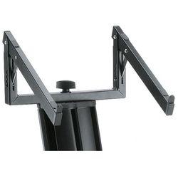 K&M 18868-000-55 półka na laptopa do statywu ″Spider Pro″ (kolor czarny)