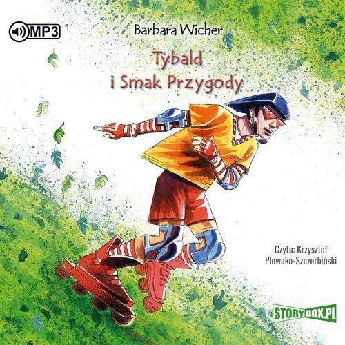 Literatura młodzieżowa, CD mp3 tybald I smak przygody (opr. kartonowa)