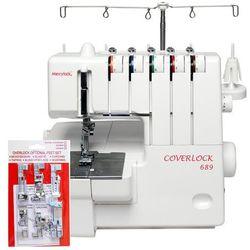 Coverlock Merrylock 689 (dodatkowe stopki GRATIS) zapytaj o dodatkowe gratisy