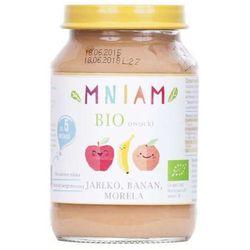 Deser jabłko banan morela od 5 miesiąca BIO 190 g MNIAM