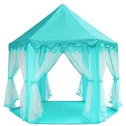 Namiot pałac dla dzieci do zabaw niebieski
