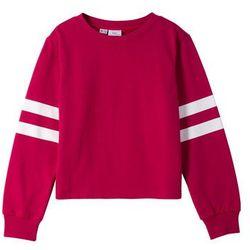Bluza dresowa bonprix jeżynowo-czerwony