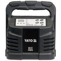 Prostowniki, Prostownik elektroniczny Yato 12 V 12 A 6-200 Ah