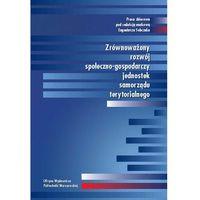 E-booki, Zrównoważony rozwój społeczno-gospodarczy jednostek samorządu terytorialnego