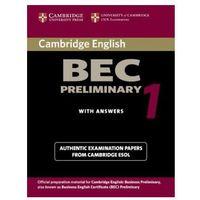 Książki do nauki języka, Cambridge BEC Preliminary 1 (opr. miękka)