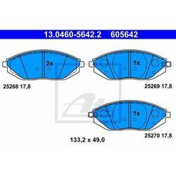 KLOCKI HAM ATE 13.0460-5642.2 CHEVROLET SPARK 1.0 LPG 10-